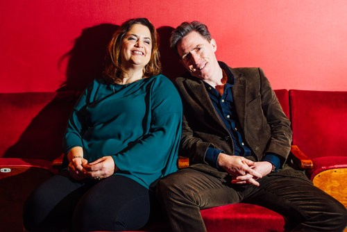 Event: An Audience with Ruth Jones and Rob BrydonDate: Monday 9th December 2019Venue: National Museum of Wales, CardiffHost: Huw Stephens-