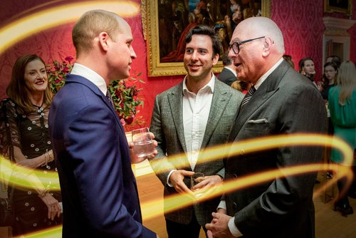 Event: Illuminating BAFTA Founding Supporter ReceptionDate: Tuesday 6 March 2018Venue: Kensington Palace, Kensington Gardens, London Host: HRH The Duke of Cambridge-Area: Reception