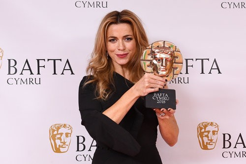 British Academy Cymru Awards, Press Room, St David's Hall, Cardiff, Wales, UK - 14 Oct 2018