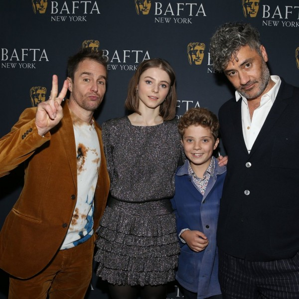 BAFTA 'Jojo Rabbit' film screening, Arrivals, New York, USA - 19 Oct 2019
