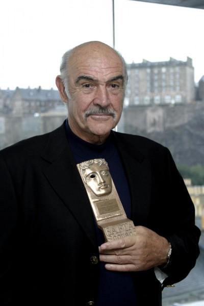 Sean Connery receives his British Academy Scotland Outstanding Achievement Award in Film at the 60th Edinburgh International Film Festival.