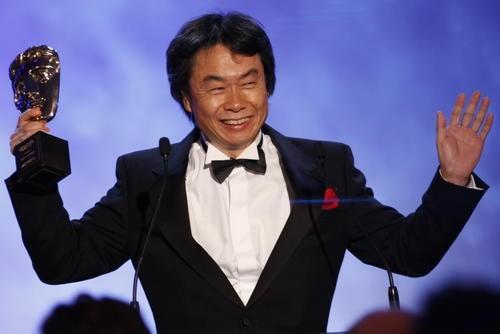 BAFTA Fellow Shigeru Miyamoto