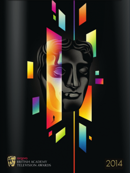 Television Award Night Brochure Illustration 2014