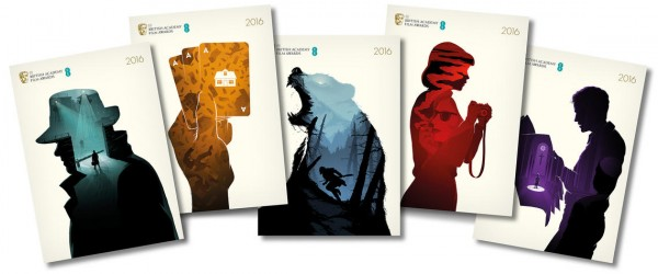 EE British Academy Film Awards brochure covers