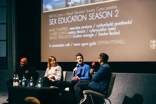Event: Sex Education Season 2 Preview with Q&ADate: Wednesday 15 January 2020Venue: Chapter Arts Centre, CardiffHost: Steffan Powell-