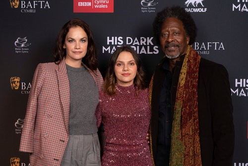 Event: His Dark Materials + Q&ADate: 17 October 2019Venue: Odeon, CardiffHost: Clare Hudson