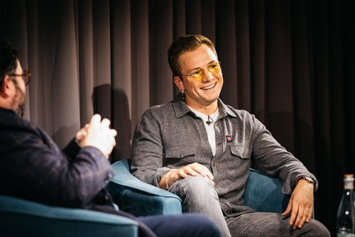 Event: An Audience with Taron EgertonDate: Wednesday 27 November 2019Venue: BAFTA Piccadilly, Piccadilly, LondonHost: Celyn Jones-Area: Q&A