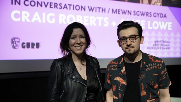 Alice Lowe and Craig Roberts