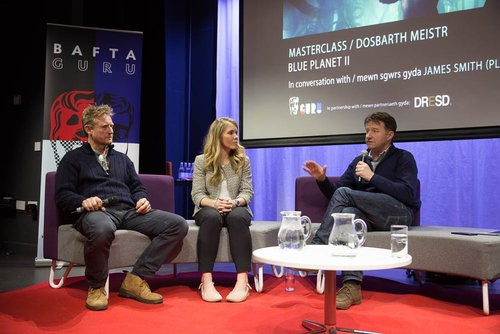 Event: Guru Live Cardiff – Blue Planet II MasterclassDate: Saturday 28 April 2018Venue: Cardiff + Vale College, CardiffHost: James Smith