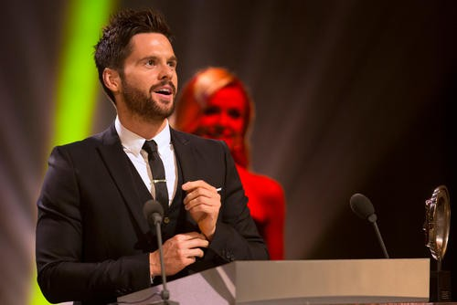 The British Academy Cymru Awards ceremony at the Wales Millennium Centre, Cardiff Bay on Sunday 26 October 2014.