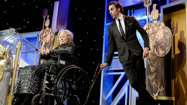 Sacha Baron Cohen 2013 Britannia Awards Stunt