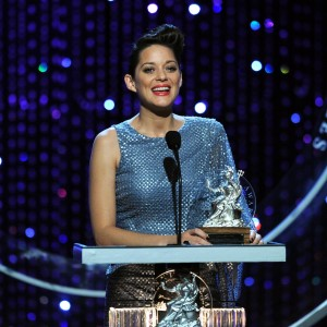 Marion Cotillard at the Britannias in 2010