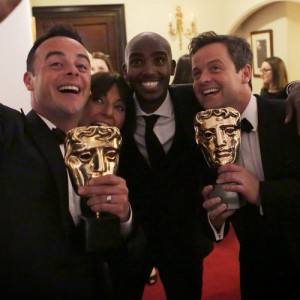 Backstage photography from the Arqiva British Academy Television Awards at the Theatre Royal on 18 May 2014.