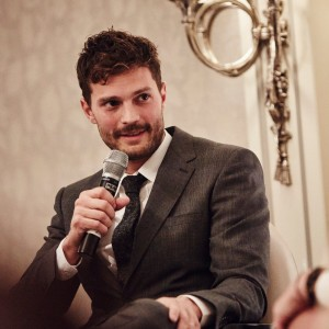 Event: Academy Circle with Jamie DornanDate: Tuesday 3 November 2015Venue: The Savoy Hotel, LondonHost: Edith Bowman-Area: INTERVIEW