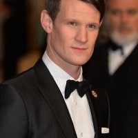 Matt Smith arrives on the red carpet for this years BAFTA Film Awards