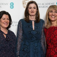 Pippa Harris, Amanda Berry and Jane Lush