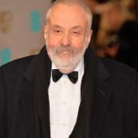 Mike Leigh arrives on the red carpet ahead of his BAFTA Fellowship award