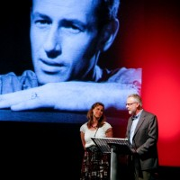 Ray's daughter Vanessa Harryhausen and film historian Tony Dalton talk about Ray's influence  (BAFTA/Brian J Ritchie).