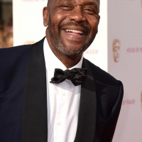 Special Award recipient Lenny Henry poses for the camera