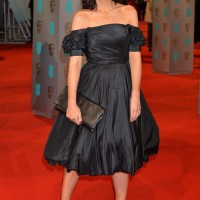 Claudia Winkleman arrives on the red carpet