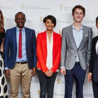 (L-R) Amanda Berry, Hosea Ntaborwa, Shivani Shah, Christopher Schlechte-Bond, Josh Berger