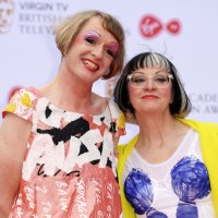Grayson Perry and Philippa Perry join the red carpet