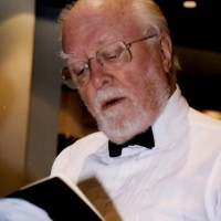Lord Attenborough at the Academy's 80th Birthday Tribute event in October 2003.