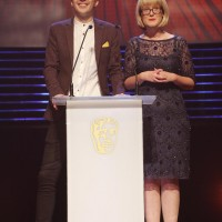 Bex & Sean present the Kids' Vote awards at the British Academy Children's Awards in 2014
