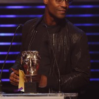Simon Webbe presents the BAFTA for Channel of the Year at the British Academy Children's Awards in 2014
