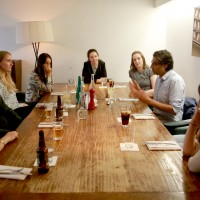 Breakthrough Brits lunch with Asif Kapadia