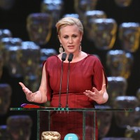 Patricia Arquette wins the Supporting Actress BAFTA for Boyhood