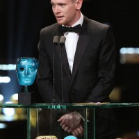 2015's EE Rising Star, Jack O'Connell, presents this year's award at the EE British Academy Film Awards
