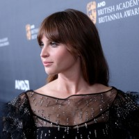 Felicity Jones was honored with the British Artist of the Year presented by Burberry.