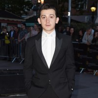 Craig Roberts on the red carpet