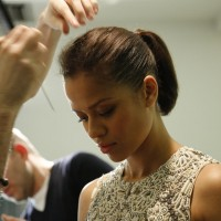 Gugu Mbatha Raw is styled ahead of announcing this year's nominations