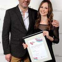 Stuart Fleming, PRS for Music & Jessica Jones winner of Original Music for Hannah