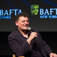2015.05.14 - BAFTA Cymru 10 Years of Doctor Who in New York featuring Steven Moffat and moderated by Jaci Stephens sponsored by Cardiff Business Council and Welsh Government/Visit Wales