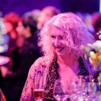 BAFTA Deputy Chair Anne Morrison enjoys the awards