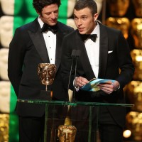 James Norton & Tom Hughes present the award for International