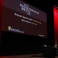 Tim Bevan CBE delivered the 2013 Breakthrough Brits keynote speech