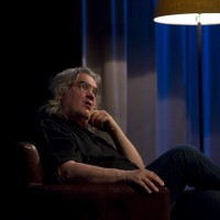 Paul Greengrass delivering the David Lean Lecture.