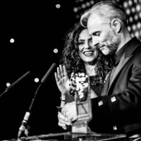 Mark Bonnar and Amy Manson