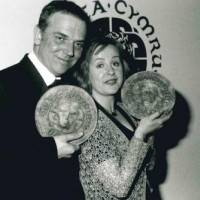 1997 BAFTA Cymru Awards winners, Best Director,  Marc Evans and Best Actress, Donna Edwards.