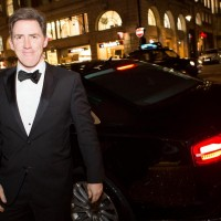 Rob Brydon arrives at BAFTA 195