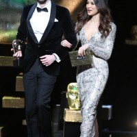 Blake Harrison & Gemma Chan take to the stage to present the British Short Film and British Short Animation awards