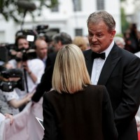 Hugh Bonneville answers questions before the BAFTA Downton Abbey Tribute event.