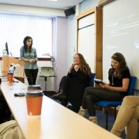 Moderator Romana Rhamzan, panellists Luci Black, Dr. Sarah Dargie and Timea Tabori