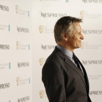 Viggo Mortensen arrives at the BAFTA Nespresso Nominees' Party at Kensington Palace