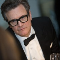 Colin Firth sits down for dinner at BAFTA 195