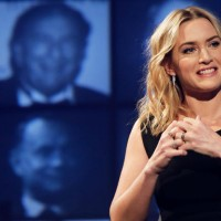 Winslet summed up her advice for learning lines: Don't panic, read the script over and over & break the part down into smaller chunks.